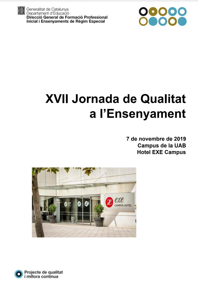 Jornada Qualitat 2019